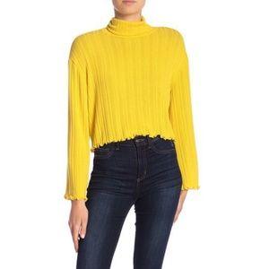 Nordstrom rack abound yellow mustard sweater